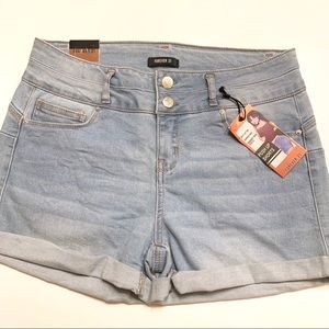 Forever 21 Shorts - New Forever21 Cuffed Denim Shorts